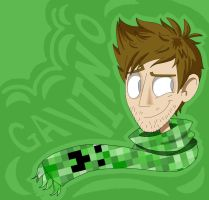 Achievement Hunter- Gavin by cottoncandyskeleton
