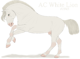 1942 AC White Lion by ShadowedMoonStables