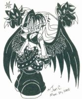 ::old pic:: Aiko w-her chaos' by Jen-C