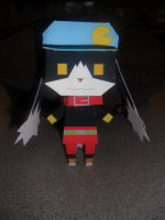 Klonoa Papercraft Built by Tyulyen
