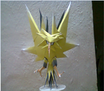 zapdos by scytherpapercraft