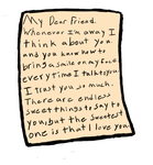 A old letter by Lynnae-Madison