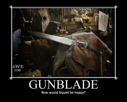 Man at Arms: Gunblade by Onikage108