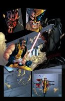 Wolverine Vs. Darth Maul Page 7 by jey2dworld