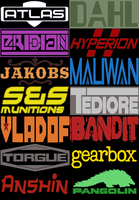 Borderlands Manufacturers by OnionMan