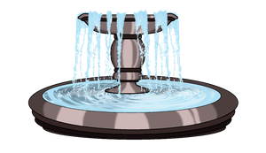 Stock : Fountain by nads6969