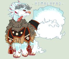 Himalayas by SinCommonStitches