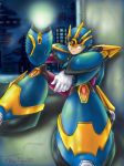 Megaman X Ultimate armor by Wingsofnina