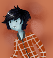 Marshall Lee by FucshiaWillow