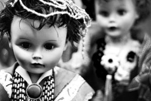 Creepy Dolls by Lydia-distracted