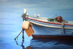 Boat by Bizriart