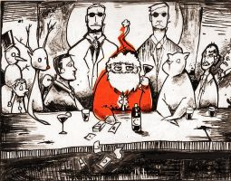 Last X-Mas Eve Supper by quick2004