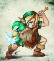 Link - LoZ by Goldman-Karee