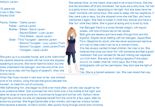 Ashlynn Lavern -Profile 1- by ScarredAssassinQueen