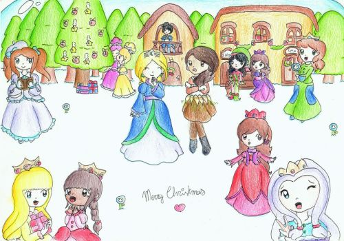 Event: Christmas in the Snowglobe Kingdom by HomuPeachy