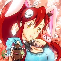 Happy Easter 2011 - Yoko bunny by Nekoi-Echizen