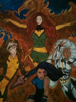X-Women Painting by U-Nica