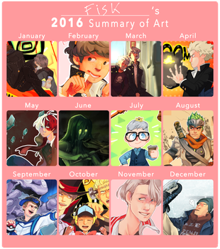 2016 Art Summary by Ful-Fisk