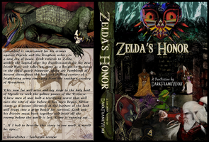 Zelda's Honor Complete Book Cover and Spine Art by Darkflame-wolf