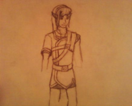 Link from Mark of the Heretic by Evilgoodguy