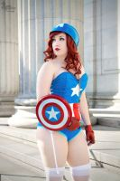 Miss Captain America I by EnchantedCupcake