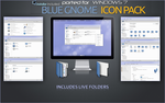 Blue Gnome Icon Pack for Windows 7 by RudeBoySes