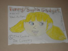 Penny Gadget's head by Wael-sa