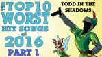 Top 10 Worst Hit Songs of 2016 by TheButterfly