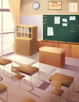 Classroom by lalitterboxes