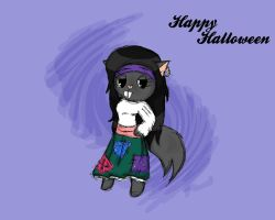 Happy Halloween by Aqua-Riss