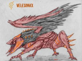 Kaiju: Velesimax by Quinn-Red