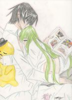 Lelouch and CC by michelle-deleon