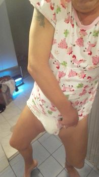Tissy ABDL Onesie and Diaper. by define-deviant