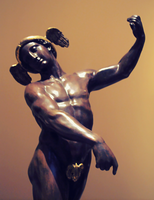 Statue of Hermes by Humble-Novice
