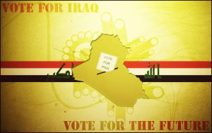 Vote For Iraq by Mardukh