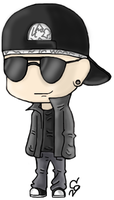 M. Shadows chibi by ClearGuitar