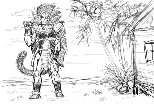 Raditz the hopeful? by ParadiseofDarkness