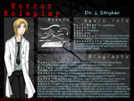 Leapold Stryker - Horror Roleplay OC Sheet by Midnyte-Wolff