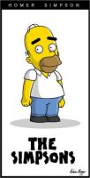 Homer Simpson by adsta