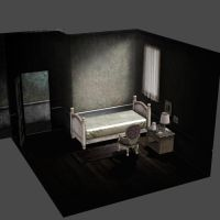 [Silent Hill 2] Bed room by shprops4xnalara