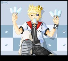 Roxas the Popsicle Prince by Hino-Akurei