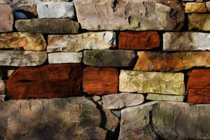 wooden stones by SmokeWithMe