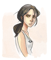 Chell Again lol by Unknowncake