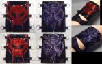 Updated Reversible Beast Wars Corset Cuff by wickedorin