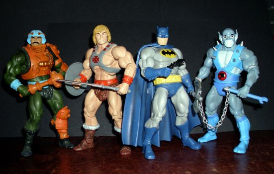 Masters of the Universe Team Up by CyberDrone2-0