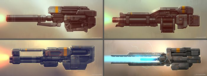 QR Weapons 01 by Talros
