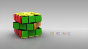 Rubic cube by janu-onliners