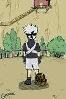 Young Kakashi by rurounigochan
