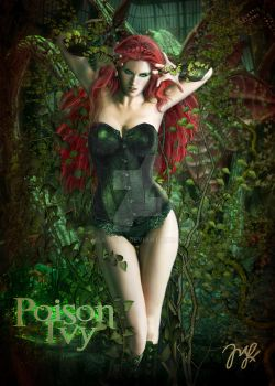 Poison Ivy by Maryneim