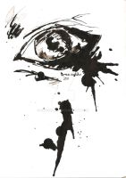 Crying ink eye by GreenSlOw
